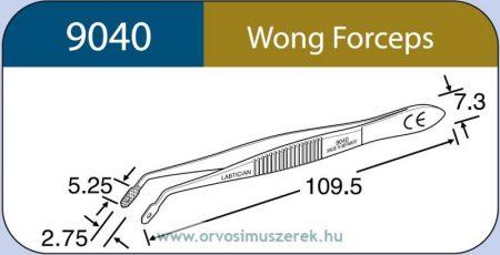 LABTICIAN 9040 Wong csipesz 2,75mm x 5,25mm 7,3mm x 109,5mm