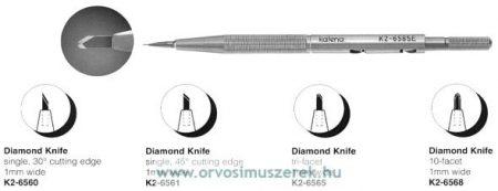 KATENA K2-6565  DIAMOND KNIFE TRI-FACET