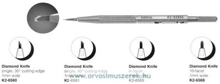 KATENA K2-6568  DIAMOND KNIFE 10-FACETS