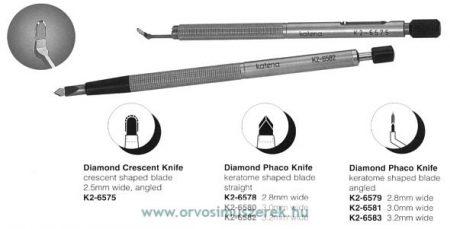 KATENA K2-6575  DIAMOND KNIFE CRESCENT ANG
