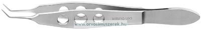 KATENA K5-5010 McPherson Fonal csipesz, hajlított, rozsdamentes acél