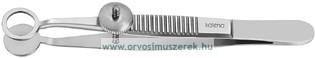 KATENA K5-9450 Lambert Chalazion csipesz, kerek, 8mm I.D.