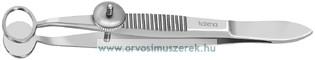 KATENA K5-9550 Baird Chalazion csipesz, ovális, 11x8mm I.D. kicsi