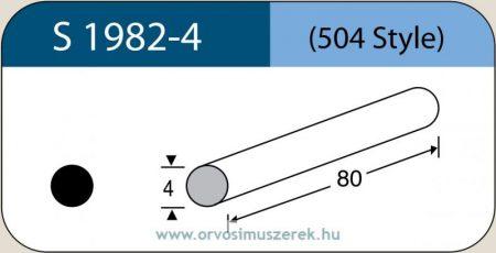 LABTICIAN S1982-4 Retina Implantátum - Kerek Szilikon szivacs 4,0mm x 80mm 5db/doboz - 504 Style