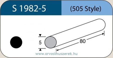 LABTICIAN S1982-5 Retina Implantátum - Kerek Szilikon szivacs 5,0mm x 80mm 5db/doboz - 505 Style