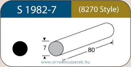 LABTICIAN S1982-7 Retina Implantátum - Kerek Szilikon szivacs 7,0mm x 80mm 5db/doboz - 8270 Style