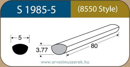 LABTICIAN S1985-5 Retina Implantátum - Scholda Szilikon szivacs 3,77mm x 5,0mm x 80mm 5db/doboz - 8550 Style