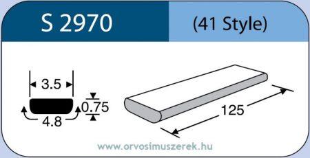 LABTICIAN S2970 Retina Implantátum - Szilikon szalag 0,75mm x 3,5mm x 4,8 x 125,0mm 5db/doboz - 41 Style