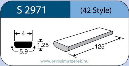 LABTICIAN S2971 Retina Implantátum - Szilikon szalag 1,25mm x 4,0mm x 5,9 x 125,0mm 5db/doboz - 42 Style