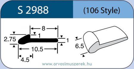 LABTICIAN S2988 Retina Implantátum - Meridional Szilikon 1,0mm x 1,0mm x 2,75mm x 4,5mm x 6,5mm x 10,5mm x 8,0mm 5db/doboz - 106 Style