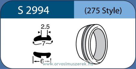 LABTICIAN S2994 Retina Implantátum - Abroncs alakú Aszimmetrikus Szilikon 2,5mm x 7,0mm x 6,0mm 5db/doboz - 275 Style