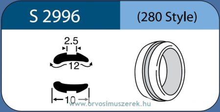 LABTICIAN S2996 Retina Implantátum - Abroncs alakú Aszimmetrikus Szilikon 2,5mm x 12,0mm x 10,0mm 5db/doboz - 280 Style