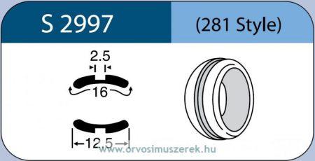 LABTICIAN S2997 Retina Implantátum - Abroncs alakú Konkáv Szilikon 2,5mm x 16,0mm x 12,5mm 5db/doboz - 281 Style