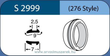 LABTICIAN S2999 Retina Implantátum - Abroncs alakú Aszimmetrikus Szilikon 2,5mm x 9,0mm x 7,0mm 5db/doboz - 276 Style