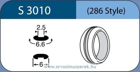 LABTICIAN S3010 Retina Implantátum - Abroncs alakú Konvex Szilikon 2,5mm x 6,6mm x 6,0mm 5db/doboz - 286 Style