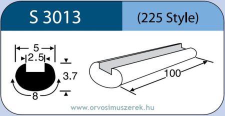 LABTICIAN S3013 Retina Implantátum - Profilcsík alakú Szilikon szalag 3,7mm x 2,5mm x 5,0mm x 8,0mm x 100,0mm 5db/doboz - 225 Style