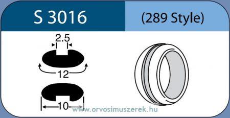 LABTICIAN S3016 Retina Implantátum - Abroncs alakú Konvex Szilikon 2,5mm x 12,0mm x 10,0mm 5db/doboz - 289 Style