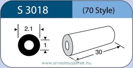 LABTICIAN S3018 Retina Implantátum - Kerek gyűrű Szilikon 1,0mm x 2,1mm x 30,0mm 5db/doboz - 70 Style