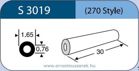 LABTICIAN S3019 Retina Implantátum - Kerek gyűrű Szilikon 0,76mm x 1,65mm x 30,0mm 5db/doboz - 270 Style