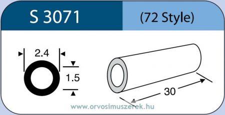 LABTICIAN S3071 Retina Implantátum - Kerek gyűrű Szilikon 1,5mm x 2,4mm x 30,0mm 5db/doboz - 72 Style