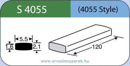 LABTICIAN S4055 Retina Implantátum - Széles Szilikon szalag 1,6mm x 2,1mm x 5,5 x 120,0mm 5db/doboz - 4055 Style