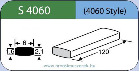 LABTICIAN S4060 Retina Implantátum - Széles Szilikon szalag 1,6mm x 2,1mm x 6,0 x 120,0mm 5db/doboz - 4060 Style