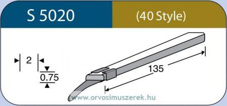 LABTICIAN S5020 Retina Implantátum - Szilikon szalag 0,75mm x 2,0mm x 135,0mm 5db/doboz - 40 Style