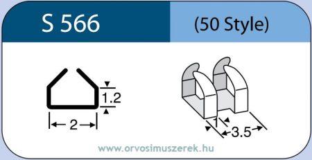 LABTICIAN S566 Retina Implantátum - Tantál kapocs Szilikon 1,2mm x 2,0mm 5db/doboz - 50 Style