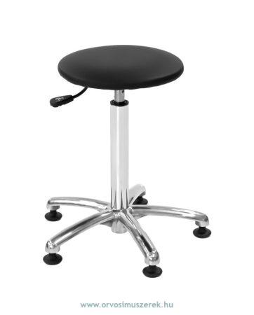 MDT T-P kör alakú ülőkés, pneumatikus emelésű páciens szék