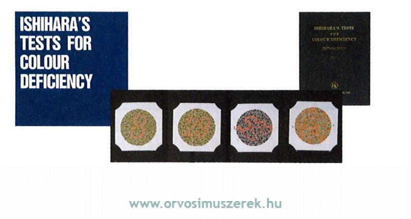 29046f8cf9 INAMI ISH-003 ISHIHARA Színlátásvizsgáló teszt 10 lap Ára: 37973 Ft ...